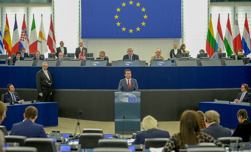 zaev EU